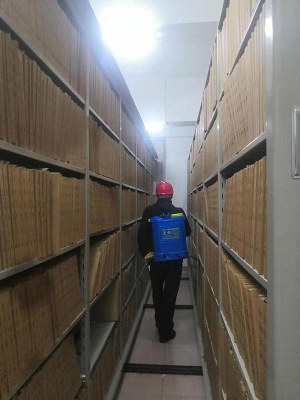 密集架档案室空气消毒