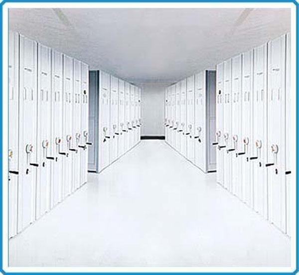 使用档案密集架比档案柜的好处
