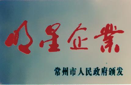 武新荣誉:明星企业