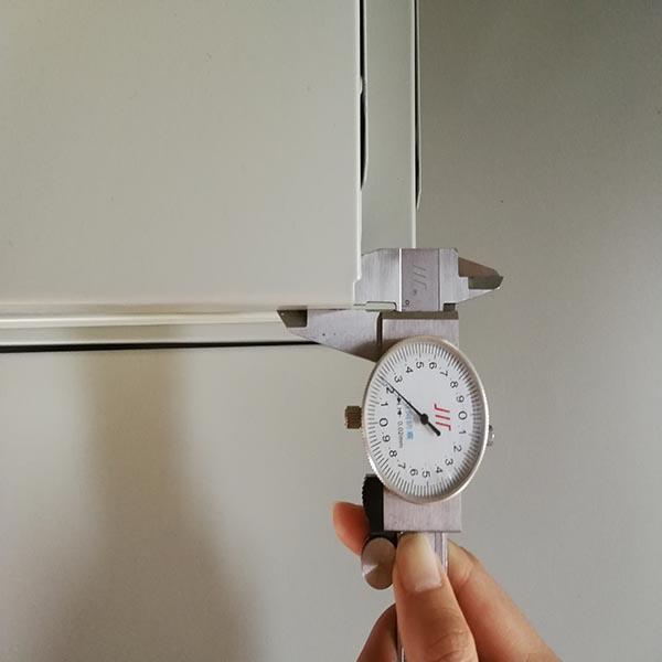 手摇式密集架精密测量